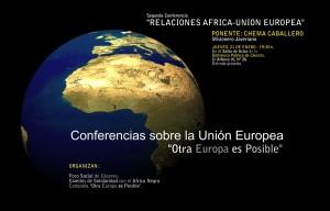 """Conferencia de Chema Caballero sobre """"Relaciones África-Unión Europea"""" – , misionero javeriano."""