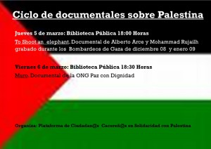 Documentales sobre Palestina